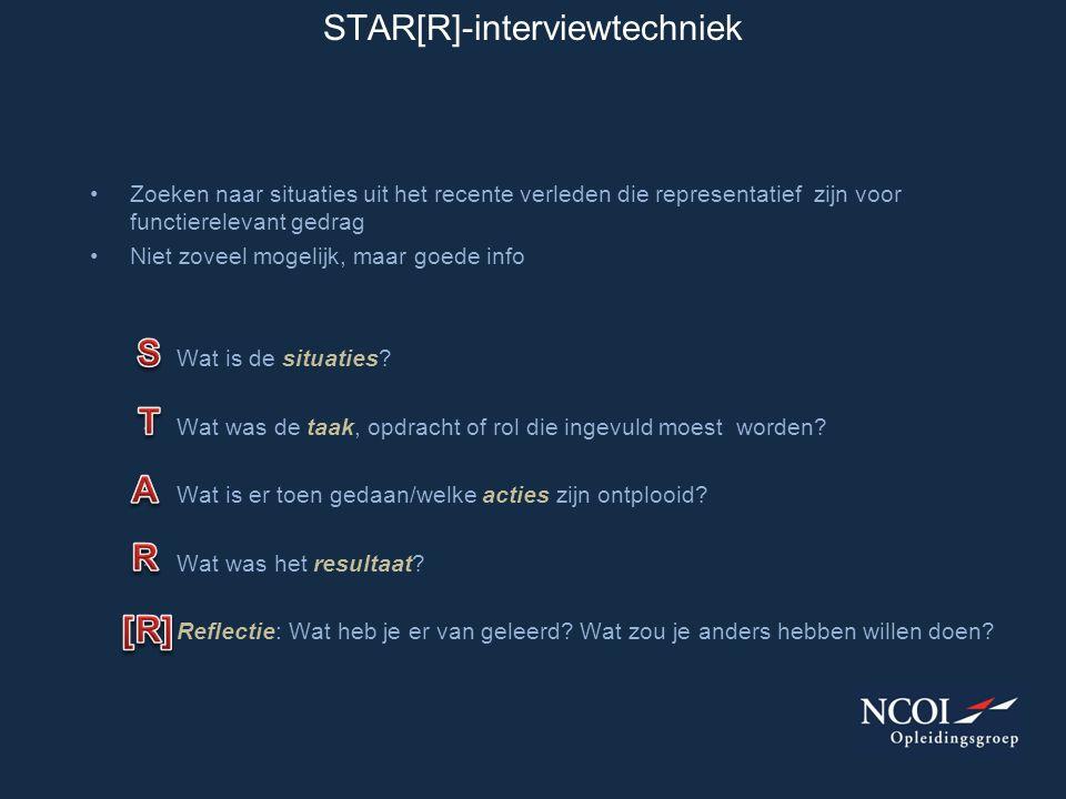 STAR[R]-interviewtechniek